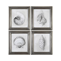 Uttermost 35247 Shell Schematic 23 X 21 inch Art Prints thumb