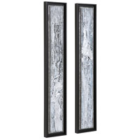 Uttermost 35370 Silver Lining 46 X 8 inch Abstract Art, Set of 2 35370_A1_ANGLE.jpg thumb