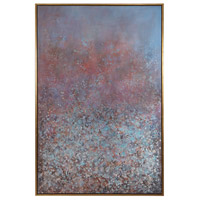 Patina 74 X 50 inch Hand Painted Canvas, Abstract Art