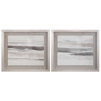 Uttermost 36114 Neutral Landscape 30 X 26 inch Framed Prints, Set of 2 thumb