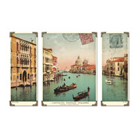 Uttermost Venice Grand Canal Set of 3 Art 40920 photo thumbnail