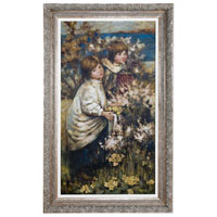 Uttermost Gathering The Flowers Wall Art in Antique Silver Leaf 41123 photo thumbnail
