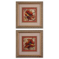 Uttermost 41240 Poppy Damask I n/a Wall Art thumb