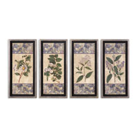 Uttermost Blue & Lilac I II III IV Set of 4 Art 41256 photo thumbnail