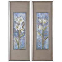 Uttermost Early Spring II III Set of 2 Art 41273 photo thumbnail