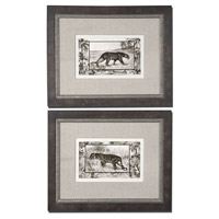 Uttermost Big Cats Set of 2 Wall Art 41343
