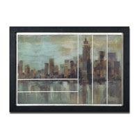 Uttermost 41352 Misty Day In Manhattan Wall Art thumb