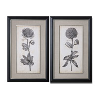 Uttermost Singular Beauty Set of 2 Wall Art 41362