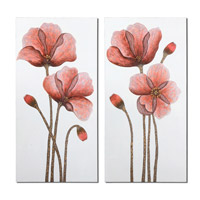 Uttermost Floral Aura Art (Set of 2) 41376