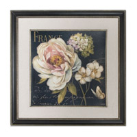Uttermost Marche de Fleurs on Black Framed Art 41388