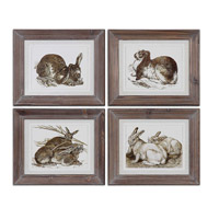 Uttermost Regal Rabbits Art 41392