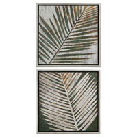 Uttermost 41411 Detailed Palms 32 X 32 inch Paintings photo thumbnail