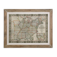 Uttermost Travellers Guide To The US Framed Art 41510