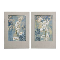 Uttermost Blossoms Set of 2 Framed Art 41511