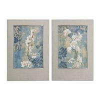 Uttermost Blossoms Set of 2 Framed Art 41511