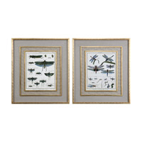 Uttermost 41564 Naturelle Insects Gold/Taupe Art