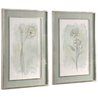 Uttermost 41582 Stone Flower Study 40 X 28 inch Floral Prints, Set of 2 alternative photo thumbnail