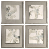 Uttermost 41583 Divination 25 X 25 inch Abstract Art, Set of 4