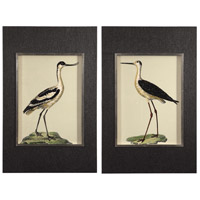 Birds On The Shore 45 X 29 inch Bird Prints, Set of 2