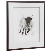 Uttermost 41606 Rustic Bull 32 X 28 inch Framed Animal Print 41606_A2_ANGLE.jpg thumb