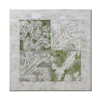 Uttermost Interlocked Elements Art in Handpainted 41823