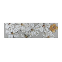 Uttermost Stitched Daisies Floral Art 41905