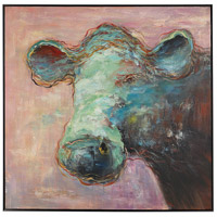 Uttermost 41917 Matty The Cow 40 X 40 inch Animal Art