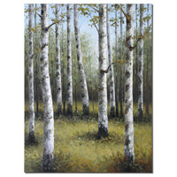 Uttermost Birches In Spring Art in Handpainted 42513