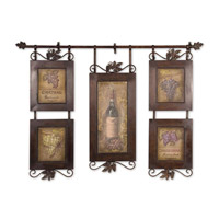 Uttermost 50791 Hanging Wine n/a Wall Art photo thumbnail