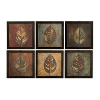 Uttermost New Leaf Panel I II Set of 6 Art 50890