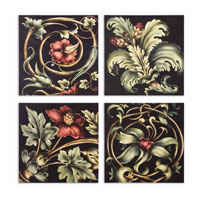 Uttermost 51011 Vibrant Floral Square I n/a Wall Art thumb