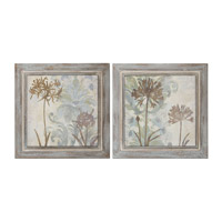 Uttermost Floral Oasis Wall Art (Set of 2) 51083