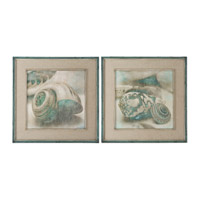 Uttermost Coastal Gems Framed Art (Set of 2) 51084