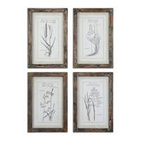 Uttermost Grasses Framed Art 51087