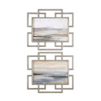 Uttermost Gray Mist Framed Art in Brown 51094