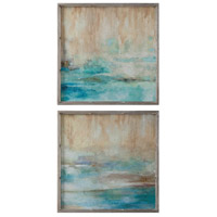 Uttermost 51103 Through The Mist Abstract Wall Art thumb