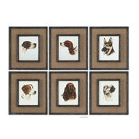 Uttermost Special Friends Set of 6 Wall Art 55001