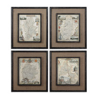 Uttermost Countryside Maps Framed Art 55002