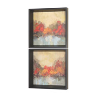 Uttermost Fall Riverside Wall Art in Black Satin 55013