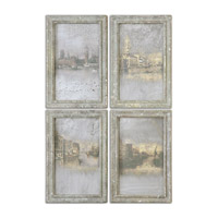 Uttermost Venetian Set of 4 Landscape Art 56050