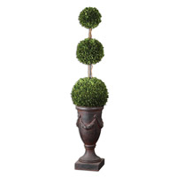 Uttermost Preserved Boxwood Triple Topiary Botanical 60093