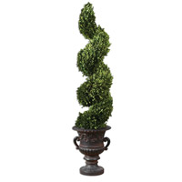 Uttermost Preserved Boxwood Spiral Topiary Botanical 60094