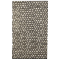 Winnow 96 X 60 inch Hand Woven Leather Rug, 5ft x 8ft