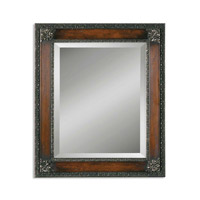 Signature 36 X 26 inch Mahogany Brown Mirror Home Decor