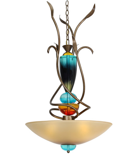 Ceiling Light Teal: Van Teal 621650 Boswell 3 Light 21 Inch Weathered Gold