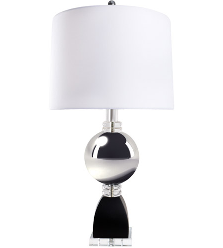 Van Teal Chrome Metal Table Lamps