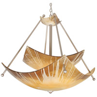 Van Teal 450450 Vanessa 6 Light 48 inch Autumn Wood Chandelier Ceiling Light You Will Remember