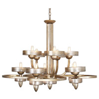 Ovation 10 Light 38 inch Tiffany Gold Chandelier Ceiling Light