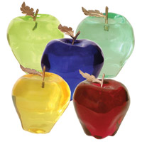 Van Teal 534635 Apples 5 X 4 inch Sculpture, Set of 5