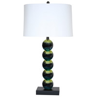 Van Teal 540972 Lambastica 31 inch 150 watt Black and Havana Blue Table Lamp Portable Light
